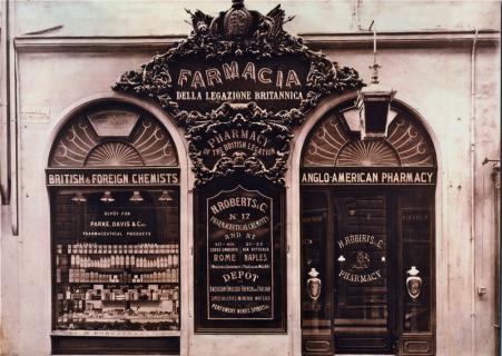 La vecchia Farmacia Inglese