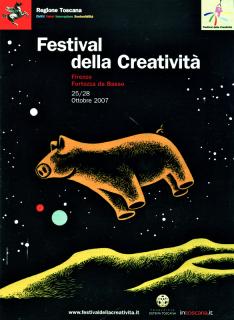 Locandina Festival della Creatività 2007